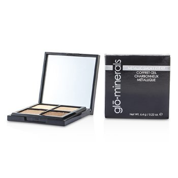 GloMinerals GloMetallic Smoky Eye Kit  4x1.6g/0.055oz