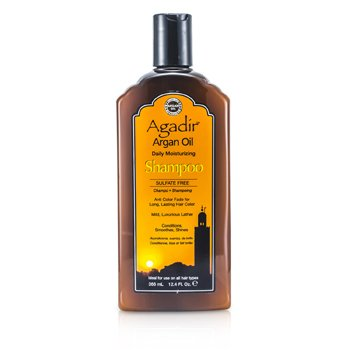 Agadir Argan Oil Daily Moisturizing Shampoo (For All Hair Types)  355ml/12oz