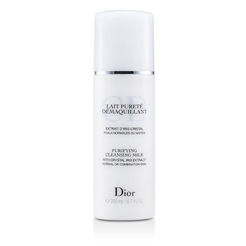 Christian Dior Leche desmaquilladora Purificante ( Piel Normal/Mixta )  200ml/6.7oz