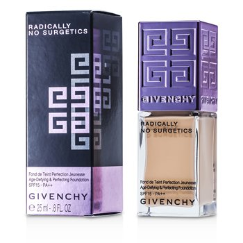 Givenchy Radically No Surgetics Age Defying & Perfecting Base de Maquillaje Desafío a  la Edad y Embellecedora SPF 15 - #2 Radiant Opal  25ml/0.8oz
