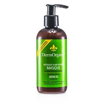 DermOrganic Mascara p/ cabelos Argan Oil Hair Repair  236ml/8oz