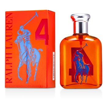 Ralph Lauren Big Pony Collection #4 Orange Eau De Toilette Spray  75ml/2.5oz
