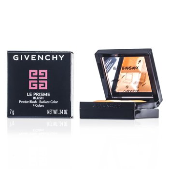 Givenchy Paleta czterech różów do policzków Le Prisme Blush Powder Blush - #26 Fashionista Brown  7g/0.24oz