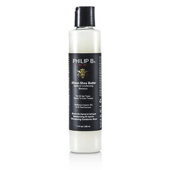 Philip B African Shea Butter Gentle & Conditioning Shampoo (For All Hair Types, Normal to Color-Treated)  220ml/7.4oz