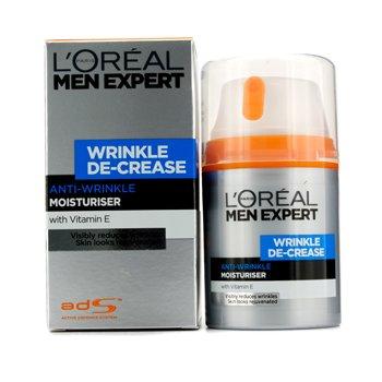 L'Oreal Men Expert Wrinkle De-Crease Crema Hidratante Anti Arrugas de Expresión  50ml/1.6oz