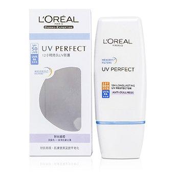 L'Oreal Dermo-Expertise UV Perfect Long Lasting UVA/UVB Protector SPF50 PA+++ - #Anti-Dullness  30ml/1oz
