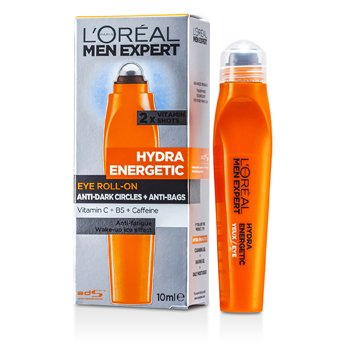 L'Oreal Men Expert Hydra Roll-on Enérgico Ojos  10ml/0.33oz