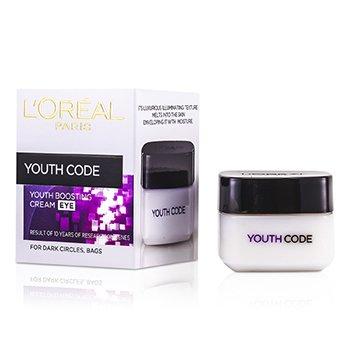 L'Oreal Creme p/ os olhos anti-rugas Dermo-Expertise Youth Code Anti-Wrinkle  15ml/0.5oz