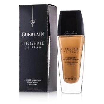 Guerlain Rozświetlający podkład w płynie Lingerie de Peau Invisible Skin Fusion Foundation SPF 20 PA+ - #04 Beige Moyen  30ml/1oz