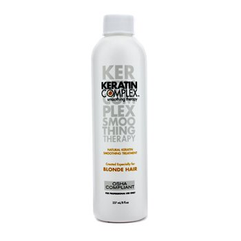 Keratin Complex Smoothing Therapy Natural Keratin Smoothing Treatment  (For Blonde Hair)  237ml/8oz