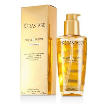 Kerastase Elixir Ultime Aceite Embellecedor Vers�til Complejo Oleo (Para Todo Tipo de Cabello)  125ml/4.2oz