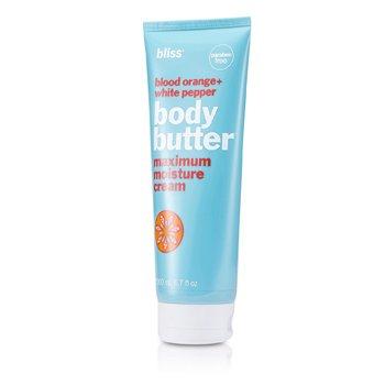 Bliss Blood Orange + White Pepper Body Butter  200ml/6.7oz