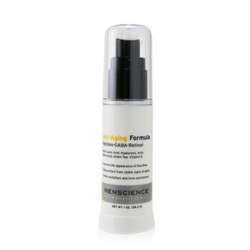 Menscience Anti-Aging Formula Skincare Cream  28.3g/1oz