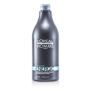 L'Oreal Professionnel Homme Energic Shampoo  750ml/25.4oz