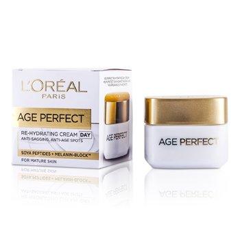 L'Oreal Przeciwzmarszczkowo-nawilżający krem na dzień do dojrzałej skóry Dermo-Expertise Age Perfect Reinforcing Rehydrating Day Cream (For Mature Skin)  50ml/1.7oz