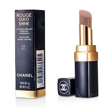 Chanel Batom Rouge Coco Shine Hydrating Sheer  - # 54 Boy  3g/0.1oz