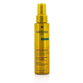 רנה פורטר Solaire After Sun Leave-In Moisturizing Spray with Jojoba Wax ספריי לחות ללא שטיפה עם שעוות חוחובה לשיער פגום  100ml/3.38oz
