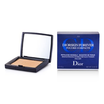 Christian Dior DiorSkin Forever Wear Extending Invisible Retouch Powder SPF 8 - # 003 Transparent Deep  12g/0.42oz