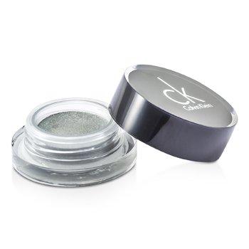 Calvin Klein Świetlisty cień do powiek Tempting Glimmer Sheer Creme EyeShadow - #305 Snakeskin Silver (bez pudełka)  2.5g/0.08oz