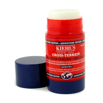 Kiehl's Cross-Terrain 24 Hour Strong Dry Stick  75ml/2.5oz