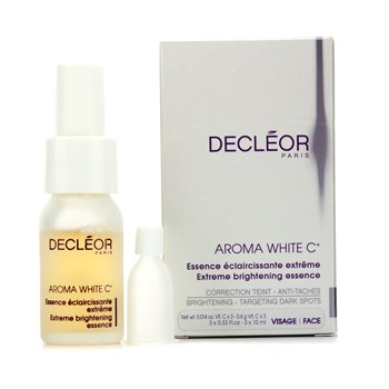 Decleor Essencia Aroma White C+ Extreme Brightening Essence  3x10ml/0.33oz