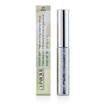 Clinique Bottom Lash Maskara - # 01 Black  2ml/0.07oz