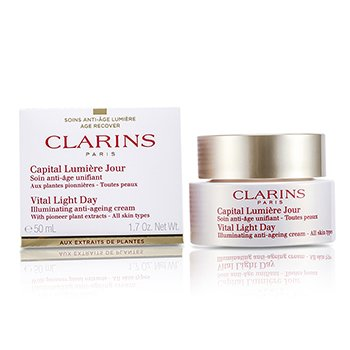 Clarins Vital Light Gündüz Aydınlatıcı Yaşlanma Karşıtı Krem  50ml/1.7oz