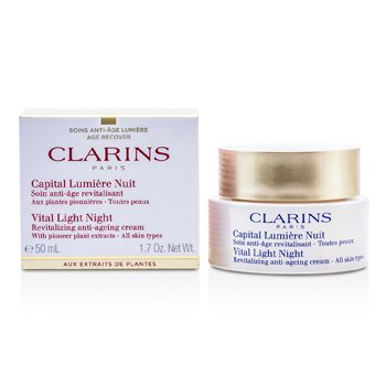 Clarins Vital Light Crema Revitalizante Antienvejecimiento Noche (Sin Embalaje)  50ml/1.7oz