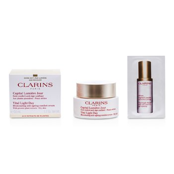 Clarins Vital Light Day Illuminating Anti-Aging Comfort Cream  50ml/1.7oz