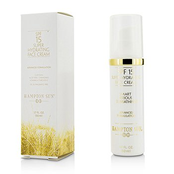 Hampton Sun SPF 15 Super Hydrating Crema Rostro  50ml/1.7oz