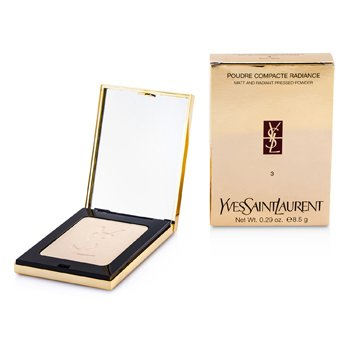 Yves Saint Laurent Poudre Compacte Radiance Matt & Radiant Pressed Powder - # 03 Beige  8.5g/0.29oz