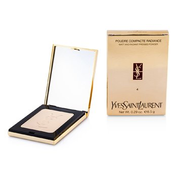 Yves Saint Laurent Poudre Compacte Radiance Matt & Radiant Pressed Powder - # 04 Pink Beige  8.5g/0.29oz