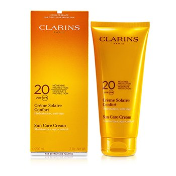 Clarins Sun Care Cream Moderate Protection 20 UVB/UVA  200ml/7oz