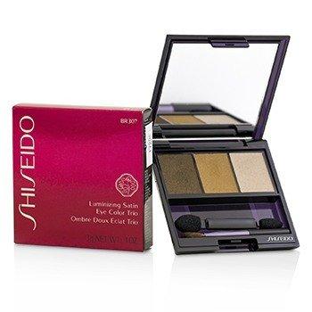 Shiseido Luminizing Satin Eye Color Trio - Pewarna Mata - # BR307 Strata  3g/0.1oz
