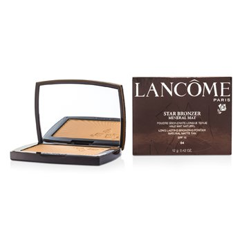 Lancome Star Bronzer Mineral Mat Long Lasting Bronzing Powder SFP15 (Natural Matte Tan) - # 04 Naturel Ambre  12g/0.42oz