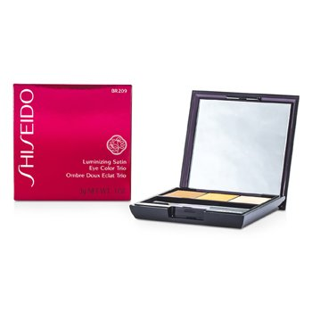 Shiseido Luminizing Satin Eye Color Trio - # BR209 Voyage  3g/0.1oz