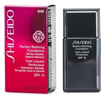 Shiseido Base Perfect Refining Foundation SPF15 - # B60 Natural Deep Beige  30ml/1oz