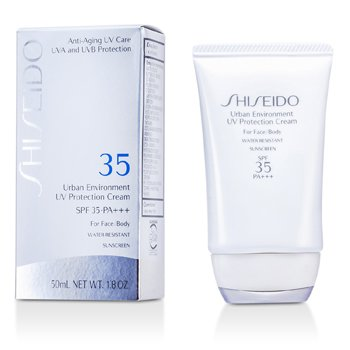 Shiseido Urban Environment UV Protection Cream SPF 35 PA+++ (For Face & Body)  50ml/1.8oz