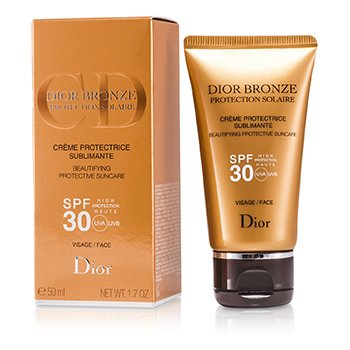 Christian Dior ضدآفتاب و محافظ پوست Dior Bronze مخصوص صورت با SPF30  50ml/1.7oz