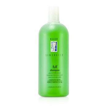 Rusk Shampoo Sensories Full Green Tea and Alfalfa Bodifying   1000ml/33.8oz