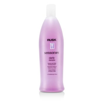 Rusk Sensories Clarify Rosemary and Quillaja Detoxifying Shampoo  1000ml/33.8oz