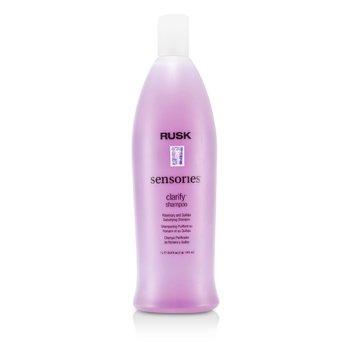 Rusk Shampoo Sensories Clarify Rosemary and Quillaja Detoxifying   1000ml/33.8oz