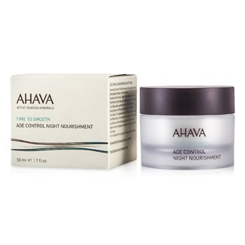 Ahava Time To Smooth Age Control Nutriente Antienvejecimiento noche  50ml/1.7oz
