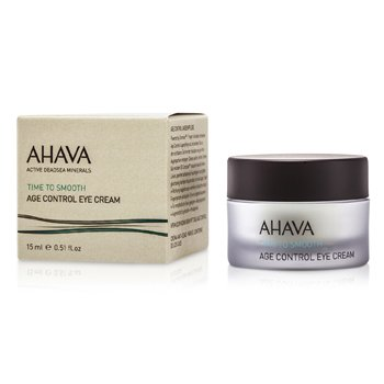 Ahava Time To Smooth Age Control Crema Antienvejecimiento de Ojos  15ml/0.5oz