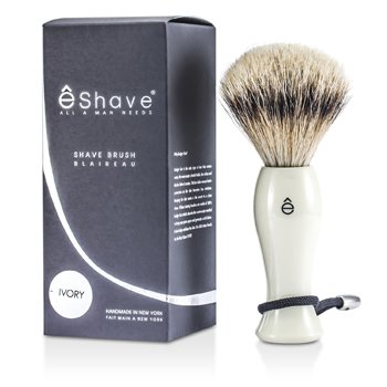 EShave Brocha Afeitado  - White  1pc