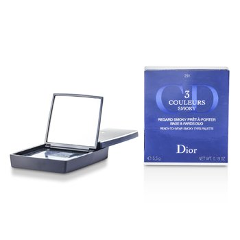 Christian Dior 3 Couleurs Smoky Ready To Wear Göz Palitrası - # 291 Tüstülü Göy  5.5g/0.19oz