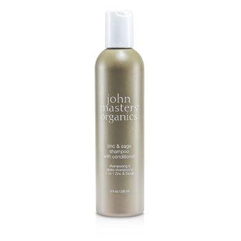 John Masters Organics Zinc & Sage Shampoo With Conditioner  236ml/8oz