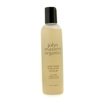 John Masters Organics Sweet Orange & Silk Protein Styling Gel  236ml/8oz