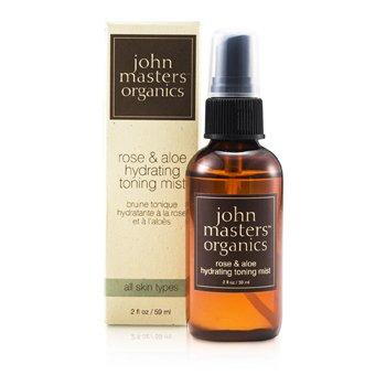 John Masters Organics Rose & Aloe Hydrating Toning Mist  59ml/2oz