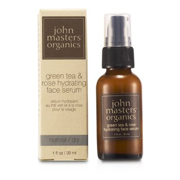John Masters Organics Green Tea & Rose Serum Hidratante Rostro ( Piel Normal/Seca )  30ml/1oz